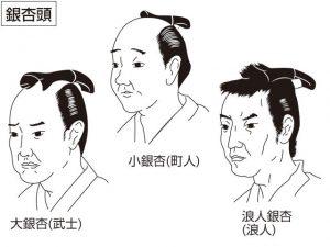 江戸時代の髷と薄毛